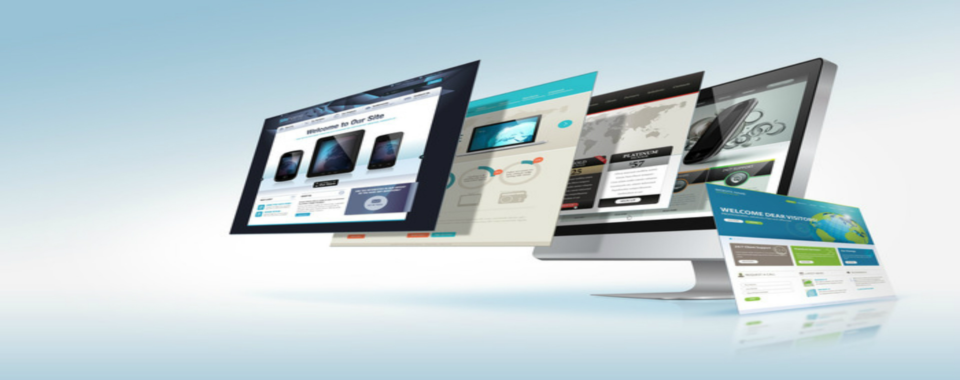 Responsive Clean Powerful Web Design and Development